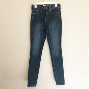 Mossimo High Rise Skinny Jeans Size 10 Long
